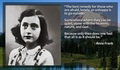 A thought by Anne Frank