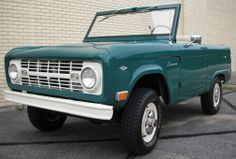 1968 Ford Bronco that I am absolutely in love with
