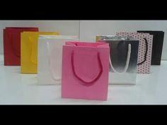 Como fazer sacolas de papel esse é jeito mais fácil - YouTube