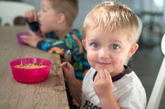 sodium in packaged foods made for toddlers found that 70 percent of them exceeded 210 mg of sodium per serving