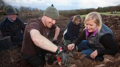 Injured soldiers are invited to learn archaeology skills in an innovative recovery project Photo: Cadw / Operation Nightingale - UK