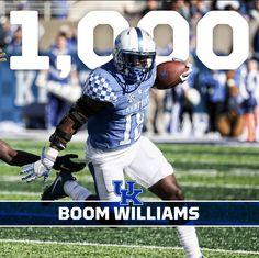 Stanley Boom Williams Jr: Major S/o to my O-Line University Of Kentucky Football, Uk Football, Kentucky Wildcats, College Football, Football Helmets, West Brom, Go Big Blue, Team Player, Sports