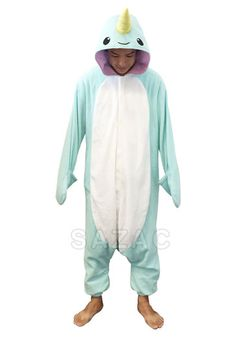 Please welcome the latest addition to the kigurumi family - Narwhal Kigurumi! Get it now in time for #Halloween at: http://kigurumi-shop.com/narwhal-kigurumi.aspx  :)