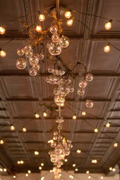ceiling lights for an eclectic wedding - enfianced