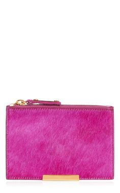 Small Zip Pouch Wallet by Sophie Hulme for Preorder on Moda Operandi