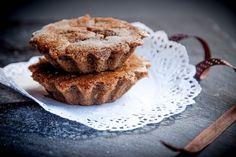 Muffins de Alfarroba e banana
