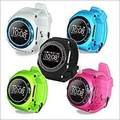 GPS tracker Smart Watch Phone and UK App for Kids and: Amazon.co.uk: Electronics
