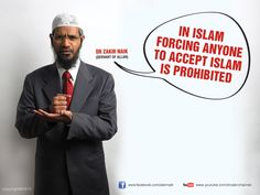 Zakir Naik Quotes And Sayings. Dr Zakir Abdul Karim Naik is an Islamic preacher from India who founded the Islamic Research Foundation (IRF). He reaches over 200 million people through his TV channel 'Peace' that he established. Islamic Inspirational Quotes, Religious Quotes, Islamic Quotes, Islamic Research Foundation, Ahmed Deedat, Islam Women, Noble Quran, Religion And Politics, Motivational Quotes For Students