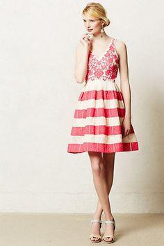 Azalea Stitched Dress - http://anthropologie.com
