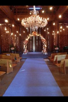 April and Matt's beautiful wedding venue from Greys Anatomy!