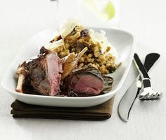 Grouse and risotto