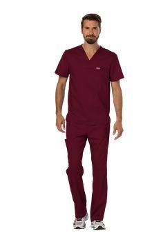 #UNIFORME #MÉDICO HOMBRE UNICOLOR CHEROKEE Ref. WW690-WIN y Ref. WW140-WIN Medical, Scrubs, Dental, Button Down Shirt, Men Casual, Mens Fashion, Mens Tops, Shirts, Life