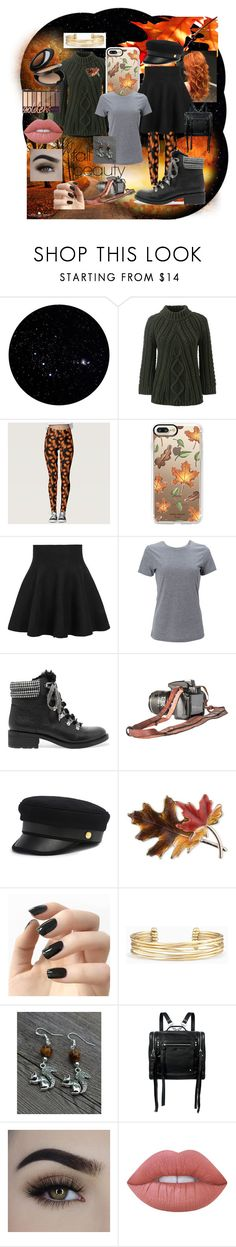 """""""Star of Auburn"""" by pandapals-1 ❤ liked on Polyvore featuring beauty, Lands' End, Casetify, Simplex Apparel, Sam Edelman, Henri Bendel, Anne Klein, Incoco, Stella & Dot and McQ by Alexander McQueen"""