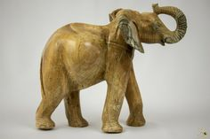 Butter Jade Stone Elephant Sculpture - Zimbabwe Elephant Sculpture, Lion Sculpture, Jade Stone, Zimbabwe, Butter, Statue, Animals, Ebay, Art