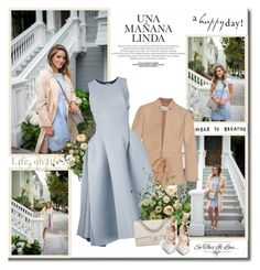 """""""You have power over your mind - not outside events. Realize this, and you will find strength!!"""" by lilly-2711 ❤ liked on Polyvore featuring Valentino, Maticevski, Chanel, Gianvito Rossi, BloggerStyle, blazer, valentino and GianvitoRossi"""
