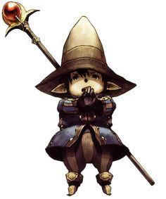 Tarutaru Black Mage - Characters & Art - Final Fantasy XI