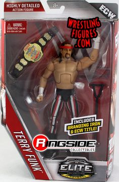 Terry Funk - WWE Elite 41 WWE Toy Wrestling Action Figure