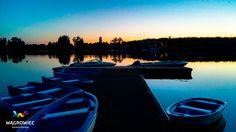 Jezioro Durowskie o zachodzie słońca. #wagrowiec #wielkopolska #polska #poland #jeziorodurowskie #lake #plaza #wągrowiec #sunset #zachodslonca #slonce