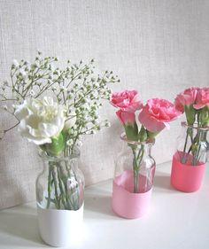 Make Your Own Lilliputian Dipped Vases