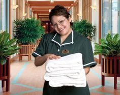 A housekeeper! Or maid or maid service--depending on HOW rich I am ...