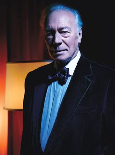 Christopher Plummer. Photographed by Mario Sorrenti. Styled by Edward Enninful.