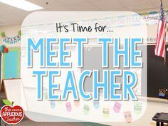 Meet the Teacher- Amazing tips for setting up for Meet the Teacher. From what to with parents, to keeping your new kiddos occupied while learning more about their new classroom!