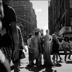 This is what I love about New York, No one cares what you get up to everyone just gets on with what ever they are doing. Shot with my Rolleiflex.
