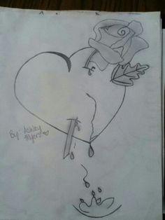 Heart n rose