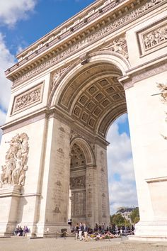 Tips for visiting Paris: Don't ride a motorcycle up the Champs Elysees and round the Arc de Triomphe during your first few hours in France. Certainly NOT at midday Saturday!