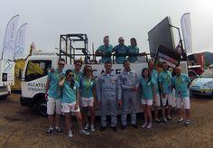 La Dream Team prend la pose avec la Patrouille de France !