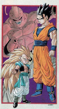 Gohan is theoretically more powerful than Goku and Vegeta…. Dragon Ball Z