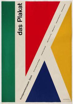 Gérard Miedinger. Das Plakat. 1953