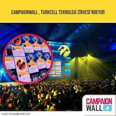 #CampaignWall , #Turkcell #Teknoloji Zirvesi'ndeydi!   #Hashtag ile #Facebook, #Twitter ve #Instagram üzerinden kampanyanızı yönetmek için ilk ve tek dijital araç! www.campaignwall.com #CampaignWall #hashtag #Kampanya #Etkinlik #Konferans #Instore #Magaza #AVM #Mobil #Dijital #SosyalMedya #Ödül #Turkcell #TeknolojiZirvesi