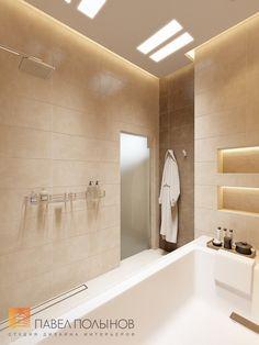 Фото: Дизайн ванной комнаты - Интерьер дома в современном стиле, коттеджный поселок «Небо», 272 кв.м.