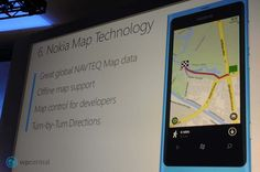 Nokia Map Technology to Windows Phone 8