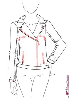 85 Best Jacket Drawing Images Drawings Cute Tattoos Amazing Art