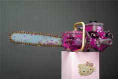 Hello Kitty Chainsaw Masacre!!