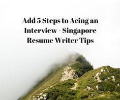 singapore resume writers