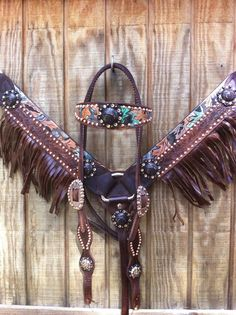 Love the fringe on the breast collar