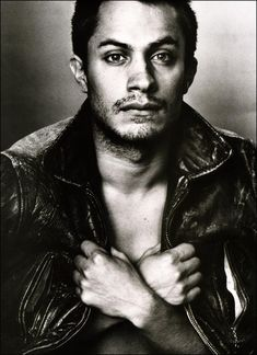 Those eyes--Gael Garcia Bernal. He was the spitting image of a young Che in The Motorcycle Diaries