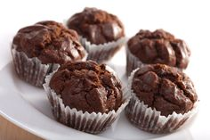 Weight Watchers Chocolate  #Cupcakes #Recipe #WeightWatchers