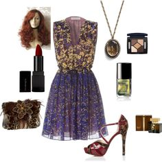 Dark Autum Does The Town, created by puddentane on Polyvore