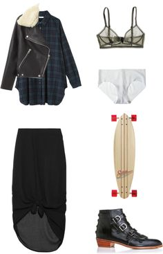 """""""Tartan Chic"""" by blackblankets ❤ liked on Polyvore"""