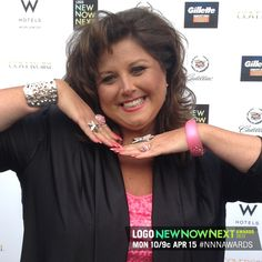 Dance Mom's Abby Lee Miller is all smiles at the the 2013 #NNNAwards