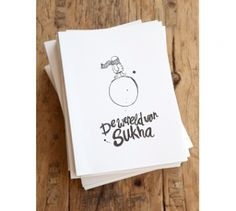 Poems and illustration for Sukha store