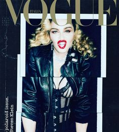 Madonna é capa da VOGUE ITÁLIA com ensaio inédito de Steven Klein | Madonna Online