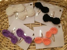 A personal favourite from my Etsy shop https://www.etsy.com/uk/listing/386460716/hair-clips-crochet-hair-clips-hair
