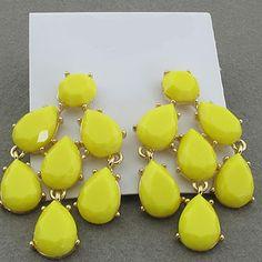 Designer Inspired Chandelier Earrings - 6 Color Choices! | Very Jane