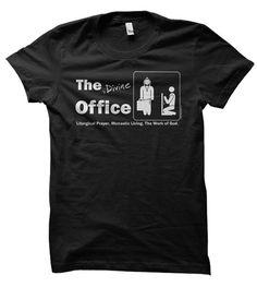 Yes! The [Divine] Office Tee   Monkrock.com