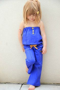 Love rompers on little girls. Except for having to use the bathroom or change a…
